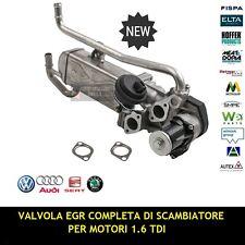 NUOVA VALVOLA EGR CON SCAMBIATORE AUDI A1 / VW POLO / SEAT IBIZA - 1.6 TDI