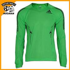 adidas Adizero Women's Long Sleeved green T-Shirt V32401 sz 10