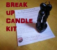 Break Up Candle Spell Kit Divorce Relationship Curse Breakup End Unhappy Bad