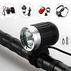 6000Lm 3X CREE XM-L T6 LED Rechargeable Bicycle Lamp Bike HeadLight Head Tail
