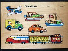 Fisher-Price, Puzzle, Vintage, 6 pièces, 1982
