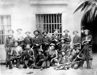c1899 Philippine American War-Young's Scouts Army Soldiers 8 1/2 x 11 Photo