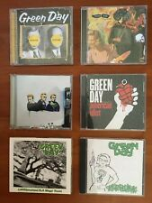 Lot 6 Green Day CD Nimrod, Insomniac, SHENANIGANS, AMERICAN IDIOT, KERPLUNK...