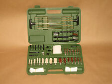62 Piece Gun Cleaning Kit - w/ Carrying Case - New! Brushes, mops, rods, & more!