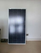 NEW 120W 12v Energy+ Solar Panel - Poly crystalline - MC4 Cables - TUV ISO UK