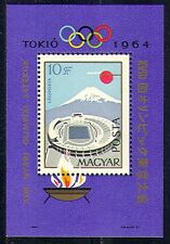 Hungary 1964 Olympic Games/Sports/Mt Fuji/Stadium/Flame/Buildings 1v m/s n29890