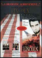 Gore Vidal's LINCOLN__Orig. 1994 Trade print AD__MARY TYLER MOORE__SAM WATERSTON