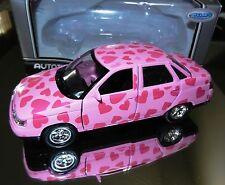 Russian Diecast LADA-2110 Saloon Lovers Hearts Limousine 1:38 Scale Autotime