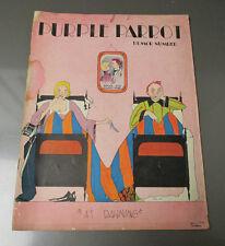 1928 THE PURPLE PARROT Northwestern University Magazine v.8 #4 VG