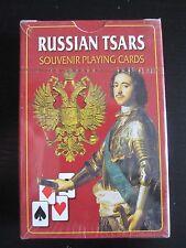 Playing Cards Russian Tsar