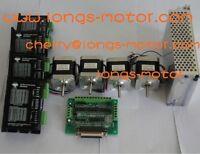 EU Ship 4Axis Nema17stepper motor 55oz 3D Printer & driver DM420A CNC MILL longs