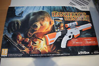 cabela's dangerous hunts 2011 jeu + top shot elite fusil nintendo wii gun pal