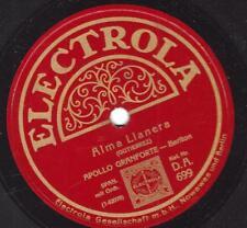 Bariton Apollo Granforte singt spanisch : Alma Llanera + La Paloma