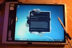FUJITSU SIEMENS Stylistic ST5112 CoreDuo 1.20GHz 1GB RAM Windows 7 Photoshop
