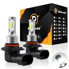 2X 9006 HB4 LED Headlight Bulb Kit Low Beam 6000K 110W 8000LM White Light