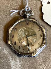 15 Jewel. 12 Size New listing Elgin Pocket Watch.