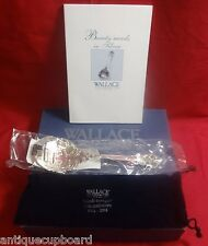 Grande Baroque by Wallace Sterling Anniversary Spoon 60Th with Box & Book 9 3/8""