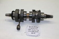 2007 Arctic Cat F5 Lxr Efi Crank Shaft Assembly 3007-044  89-31