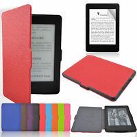 Inteligente Funda magnética fina para Kindle Paperwhite + Pantalla protectora