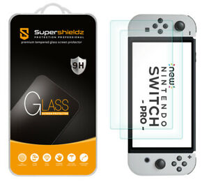 2X Supershieldz Tempered Glass Screen Protector for Nintendo Switch OLED (2021)