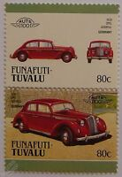 1938 OPEL ADMIRAL Car Stamps (Leaders of the World / Auto 100)