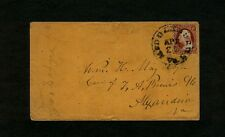 "#11 - 1850s Virginia ""MIDDLEBURG Va."" to William H. May, c/o T. A. Brews in Alex"
