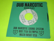 "DUB NARCOTIC SOUND SYSTEM - WASTED GROOVE  7"" 45"