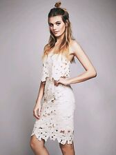 NEW Free People Beige Erin Dress Size Small Retails  $250