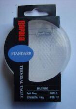 Anneaux brisés inox Rapala taille 4 en coque plastique