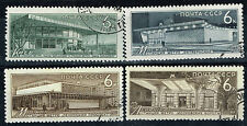 Russia Moscow Famous Achitecture Metro Subway Stations stamp set 1965