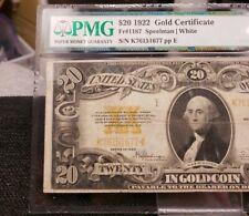 1922 $20 GOLD CERTIFICATE Fr 1187 Very Fine 20 XH