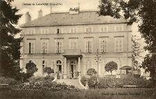 Carte Château de LACANCHE Employés et propriétaires sur le perron