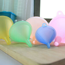 5Pcs/SET Colorful Plastic Funnel  Variety Liquid Oil Kitchen Tools Home