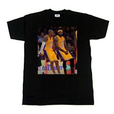 Lebron James Lakers T-shirt Lebron And Kobe Bryant T-shirt