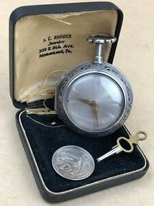 William Mould London fine 1760s cylinder Fusee 1/4 Repeater Silver Pockets watch