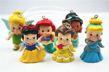 6Pcs/lot Cartoon Princess Pendant For Bubblegum Chunky Girl Neckalce PR001