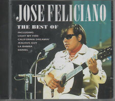 JOSE FELICIANO The Best Of CD NEUF the last time right here Waiting La Bamba