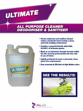 Ultimate Lightly Perfumed, Powerful, Multi Surface All Purpose Cleaner