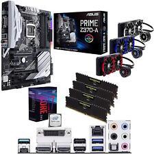 Motherboard Intel Coffee Lake Core I7 8700k 5.0GHz CPU ASUS PRIME Z370-A 32GB