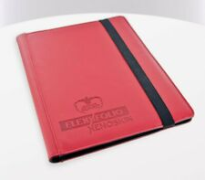 Ultimate Guard - 9-Pocket Flexxfoli Xenoskin Red - Cards Folder Card Map Xeno