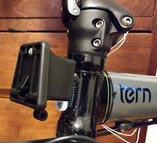 Brompton Carrier Block Adapter for Tern or Dahon Folding Bikes - Black