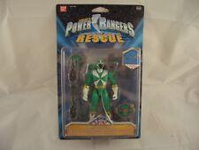 Power Rangers Lightspeed Rescue Armour Green Ranger Figure
