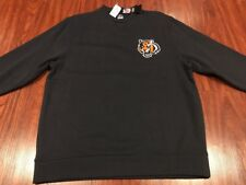 Majestic Men's Cincinnati Bengals NFL Football Sweatshirt Large L Who Dey