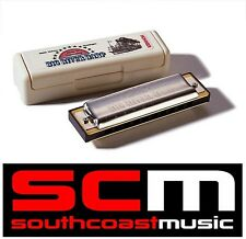 BRAND NEW HOHNER BIG RIVER 20 REED HARMONICA DIATONIC HARP KEY OF C 590/20