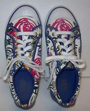 Womens Coach Barrett Poppy Shoes Sneakers Navy Size 6.5B Preowned