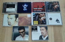 LOT CDs GEORGE MICHAEL (FAITH - SONGS FROM THE LAST CENTURY - PATIENCE -...)