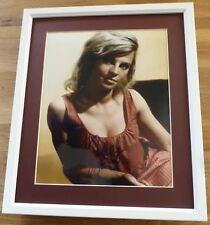 JULIE CHRISTIE-A Superb Hand Signed & Framed Photo-RARE Legend & COA Too
