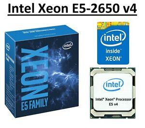 Intel Xeon E5-2650 v4 SR2N3 2.20 - 2.90 GHz, 30MB, 12 Core, LGA2011-3, 105W CPU