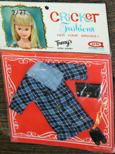 """*Rare Vintage 1965 Cricket Doll """"Windy City"""" Outfit #14102 In Original Package"""