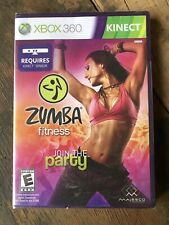 NEW Zumba Fitness 'JOIN THE PARTY' for XBOX 360, Factory Sealed